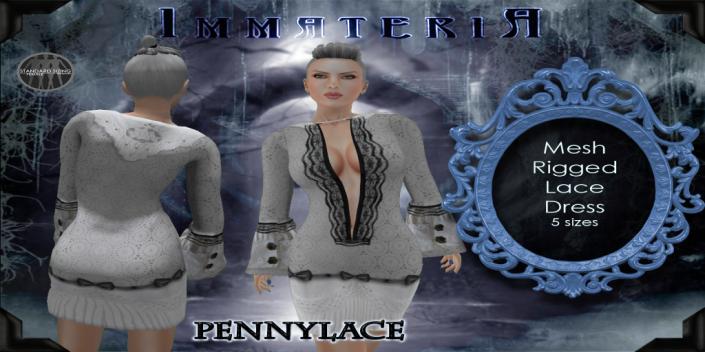 Immateria Pennylace Ad